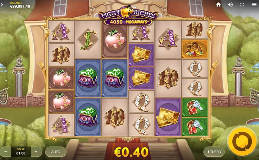 Slot Piggy Riches Megaways จาก Red Tiger Gaming